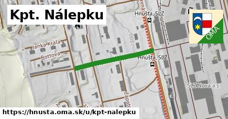 ilustrácia k Kpt. Nálepku, Hnúšťa - 690m