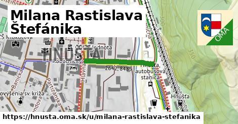 ilustrácia k Milana Rastislava Štefánika, Hnúšťa - 219m