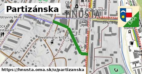 ilustrácia k Partizánska, Hnúšťa - 1,02km