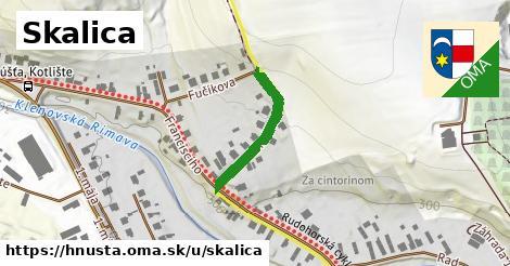 ilustrácia k Skalica, Hnúšťa - 354m