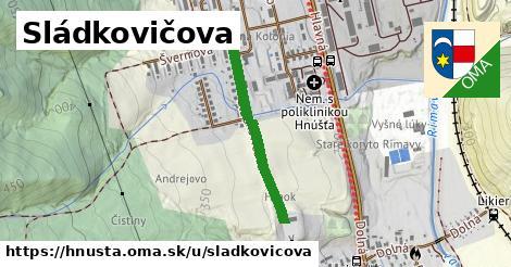 ilustrácia k Sládkovičova, Hnúšťa - 516m