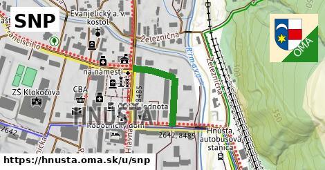 ilustrácia k SNP, Hnúšťa - 208m