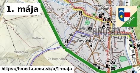 ilustrácia k 1. mája, Hnúšťa - 1,81km