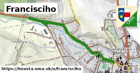 ilustrácia k Francisciho, Hnúšťa - 1,17km