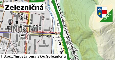 ilustrácia k Železničná, Hnúšťa - 0,73km