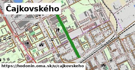 ilustrácia k Čajkovského, Hodonín - 556m