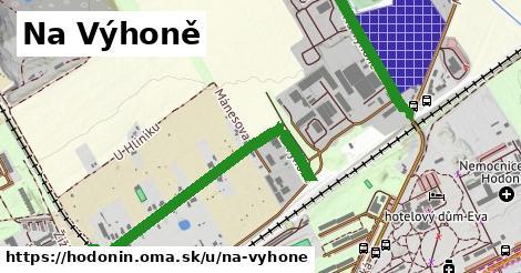 ilustrácia k Na Výhoně, Hodonín - 1,34km