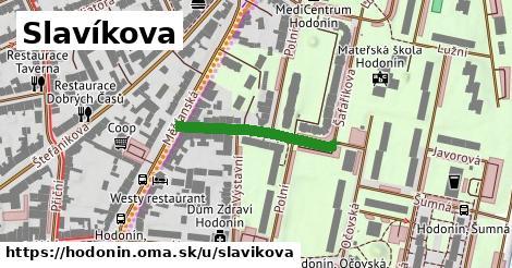 ilustrácia k Slavíkova, Hodonín - 233m