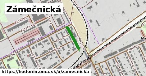 ilustrácia k Zámečnická, Hodonín - 133m