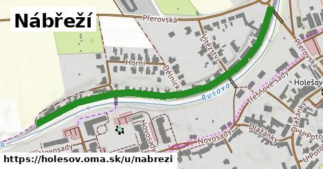 ilustrácia k Nábřeží, Holešov - 646m