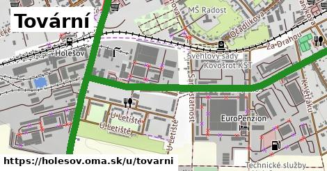 ilustrácia k Tovární, Holešov - 2,1km