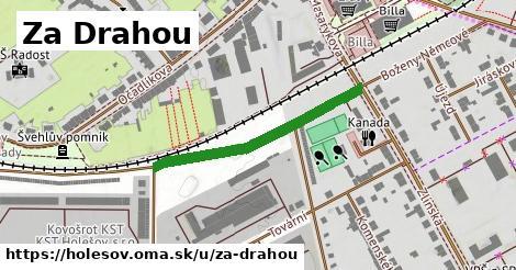 ilustrácia k Za Drahou, Holešov - 320m