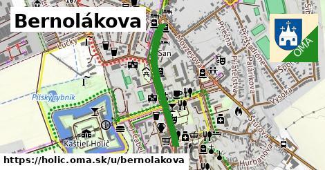 ilustrácia k Bernolákova, Holíč - 381m