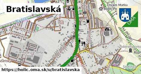 ilustrácia k Bratislavská, Holíč - 1,31km