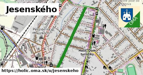 ilustrácia k Jesenského, Holíč - 689m