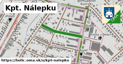 ilustrácia k Kpt. Nálepku, Holíč - 256m