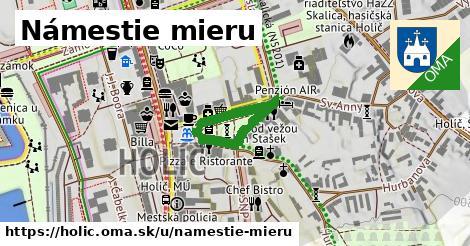 ilustrácia k Námestie Mieru, Holíč - 311m