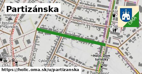 ilustrácia k Partizánska, Holíč - 365m