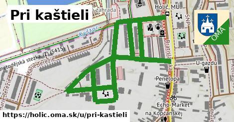ilustrácia k Pri kaštieli, Holíč - 1,79km