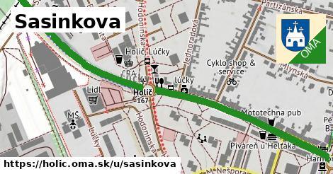 ilustrácia k Sasinkova, Holíč - 0,79km