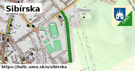 ilustrácia k Sibírska, Holíč - 589m