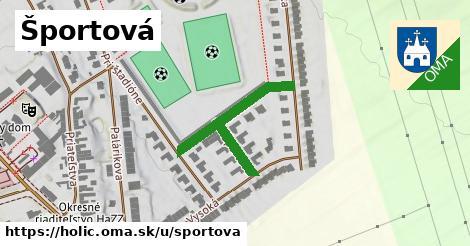 ilustrácia k Športová, Holíč - 320m