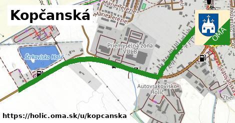 ilustrácia k Kopčanská, Holíč - 1,54km