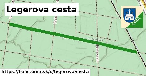 ilustrácia k Legerova cesta, Holíč - 1,32km