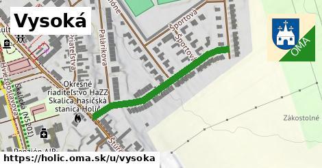 ilustrácia k Vysoká, Holíč - 363m