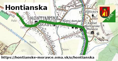 ilustrácia k Hontianska, Hontianske Moravce - 0,82km