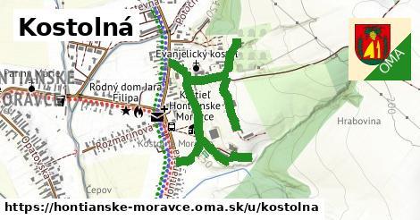 ilustrácia k Kostolná, Hontianske Moravce - 464m