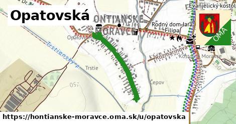ilustrácia k Opatovská, Hontianske Moravce - 553m