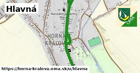 ilustrácia k Hlavná, Horná Kráľová - 1,25km