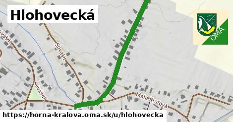 ilustrácia k Hlohovecká, Horná Kráľová - 463m