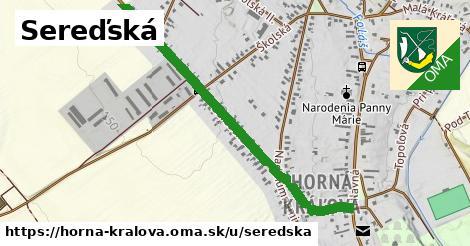 ilustrácia k Sereďská, Horná Kráľová - 1,06km