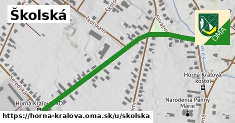 ilustrácia k Školská, Horná Kráľová - 577m