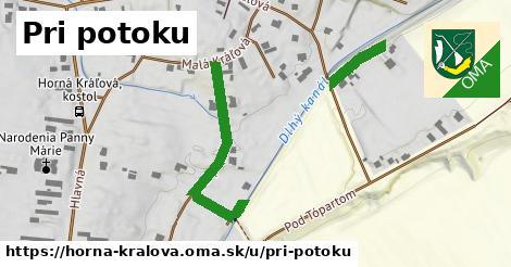 ilustrácia k Pri potoku, Horná Kráľová - 431m