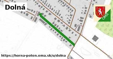 ilustrácia k Dolná, Horná Potôň - 304m