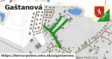 ilustrácia k Gaštanová, Horná Potôň - 440m