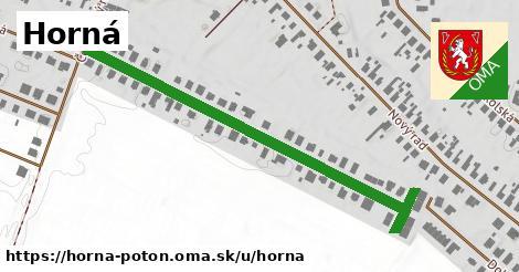 ilustrácia k Horná, Horná Potôň - 591m