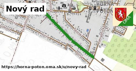 ilustrácia k Nový rad, Horná Potôň - 0,76km
