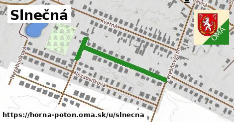 ilustrácia k Slnečná, Horná Potôň - 449m