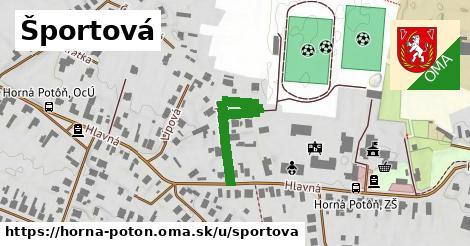 ilustrácia k Športová, Horná Potôň - 291m