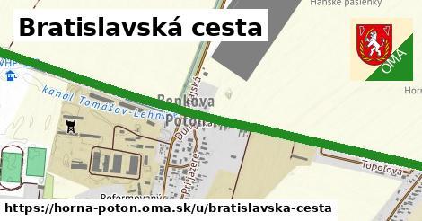 ilustrácia k Bratislavská cesta, Horná Potôň - 2,9km