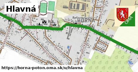 ilustrácia k Hlavná, Horná Potôň - 2,2km