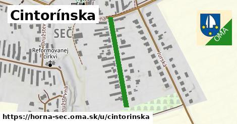 ilustrácia k Cintorínska, Horná Seč - 283m