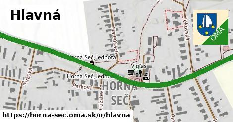 ilustrácia k Hlavná, Horná Seč - 0,98km