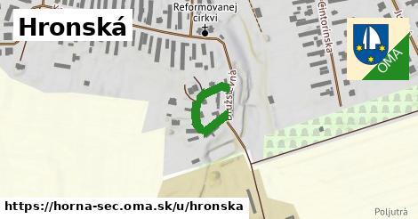 ilustrácia k Hronská, Horná Seč - 190m