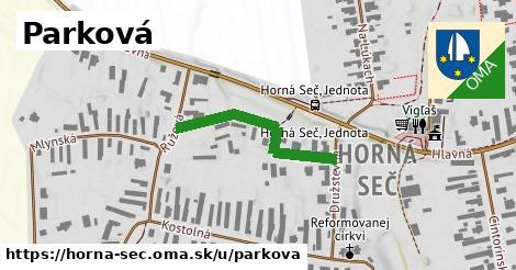 ilustrácia k Parková, Horná Seč - 281m