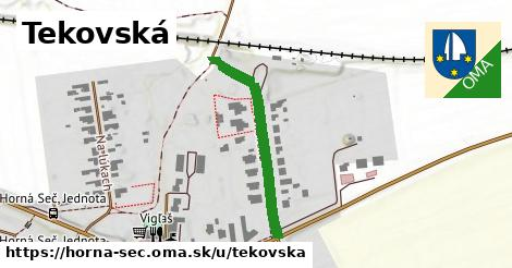 ilustrácia k Tekovská, Horná Seč - 302m